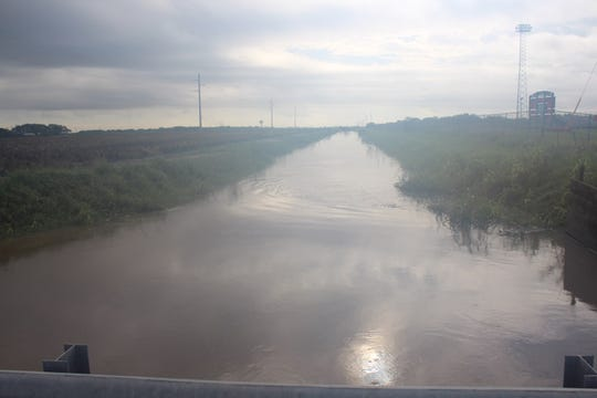 Floodinghappens in Robstown because of an outdated drainage ditch that runs along Bosquez Road from State Highway 44 toBenavides Street covering eight city blocks.