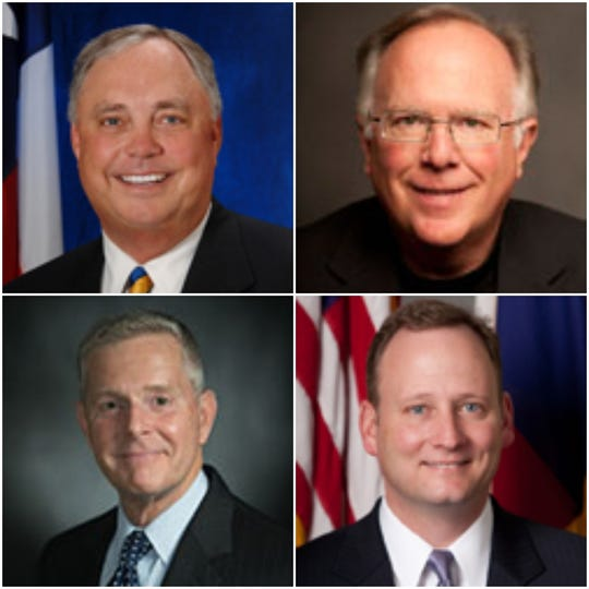 Rep. Drew Darby, Rep. Todd Hunter, Rep. Phil King, Rep. Four Price