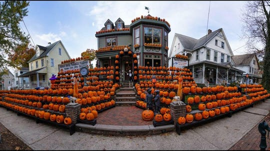 The Mount Holly Pumpkin Festival was started in 2004 by a married couple that was new to town. People come from all over to enjoy the free festival, which allows visitors to carve pumpkins, eat snacks and enjoy a good time. The pumpkins are left behind for display.