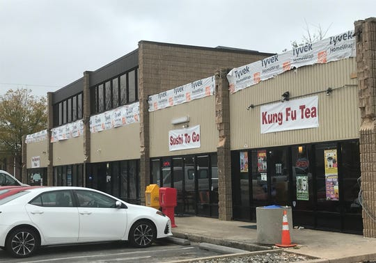 Renovations are underway at a shopping center on Haddonfield Road, Cherry Hill, where a Korean-based bakery chain is expected to open in January.