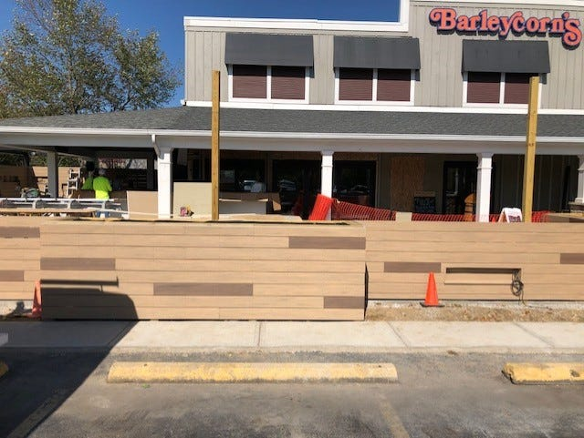 The Cold Spring Barleycorn's renovated patio is about to open, just in time to enjoy the end of patio weather.