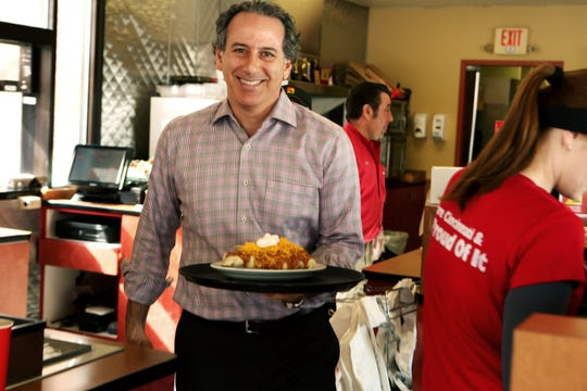 February 25, 2015: Roger David is the new CEO of Gold Star Chili, which is celebrating their 50th anniversary. David's father and uncles founded the restaurant in 1965 in Mount Washington.