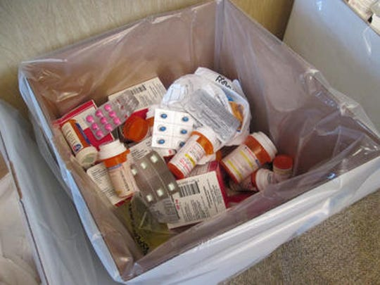 DEA's Take Back Day to encourage prescription drug drop-offs is Saturday.