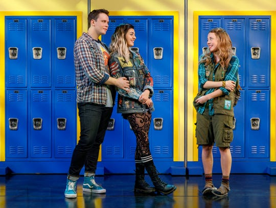 "In ""Mean Girls,"" new student Cady Heron meets classmates Damian Leigh and Janis Ian, who fill her in on the social laws of North Shore High School."