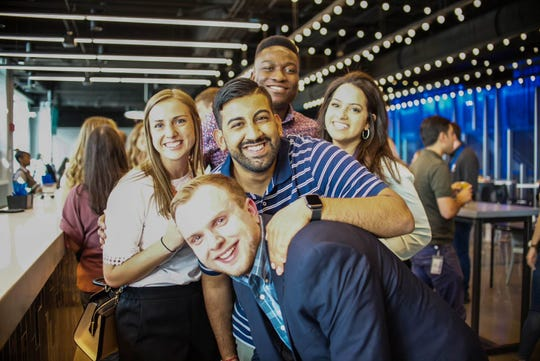 Camaraderie and smiles showcase Plante Moran's spirit at this year's annual Firm Conference.