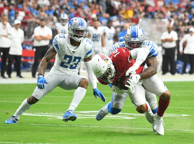 Quandre Diggs made this tackle in Week 1 but his performance at that discipline has slipped this season.