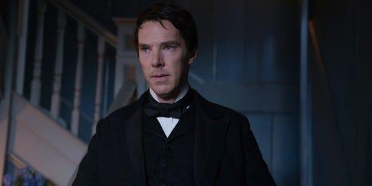 "Benedict Cumberbatch in ""The Current War."""