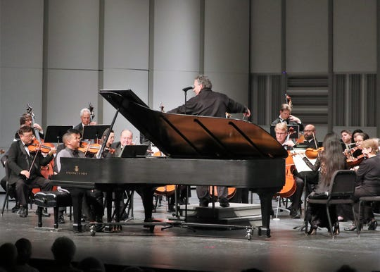 Raffaele Ponti leads the Charlotte Symphony Orchestra, which just changed its name to Punta Gorda Symphony.