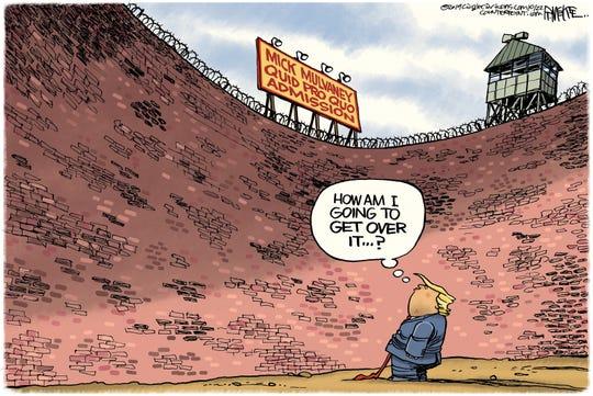 Trump's quid pro quo wall.