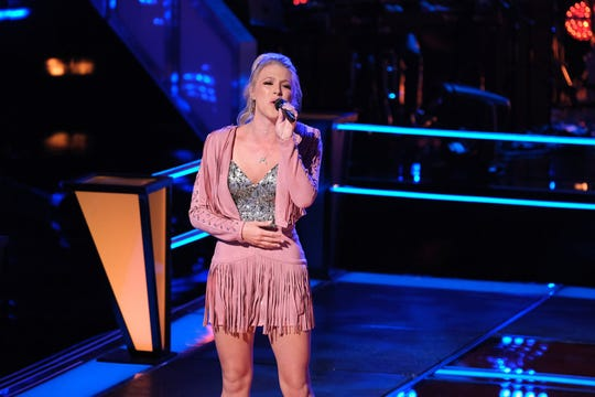 """Brennan Lassiter of Dacusville competed on the battle rounds of """"The Voice"""" Monday."""