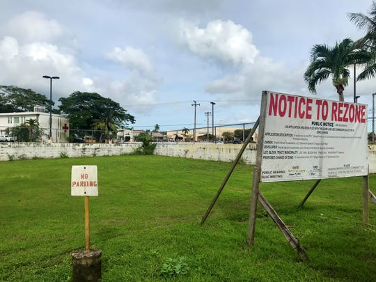 A proposal for a new commercial building in Hagåtña was submitted to the Department of Land Management.  The building would be located near Route 4, about 450 feet west of Agana Shopping Center, next to the Guam Law Library.