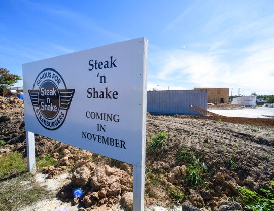 Steak 'n Shake will open in November near Target shopping center in Hattiesburg.
