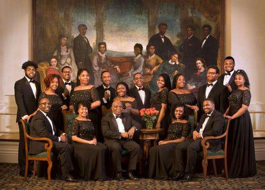 Fisk Jubilee Singers.