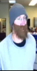 This man robbed the Centier Bank about 2 p.m. Tuesday, Oct. 22, 2019, in the Pay Less Super Market strip mall in West Lafayette.