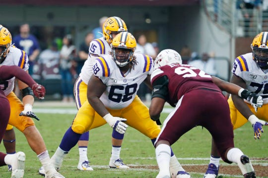 Damien Lewis: 4 facts on 2020 NFL Draft prospect, LSU football guard