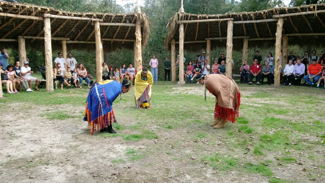 Many of Louisiana's Native American tribes and tribal communities will share their living culture through crafts, music, dance, storytelling, and other cultural exchanges at the last culture day of the year at Vermilionville Living Museum and Folklife Park. Photo of 2017 Native American Culture Day