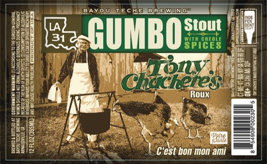Bayou Teche Brewing announced its newest creation, the Gumbo Stout