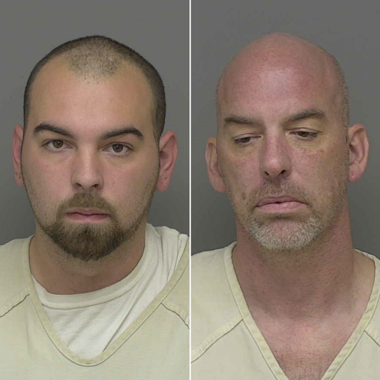 Austin Odras, 21, and Brandon Kernodle, 42 are charged with multiple felonies including possession with intent to delivery meth.