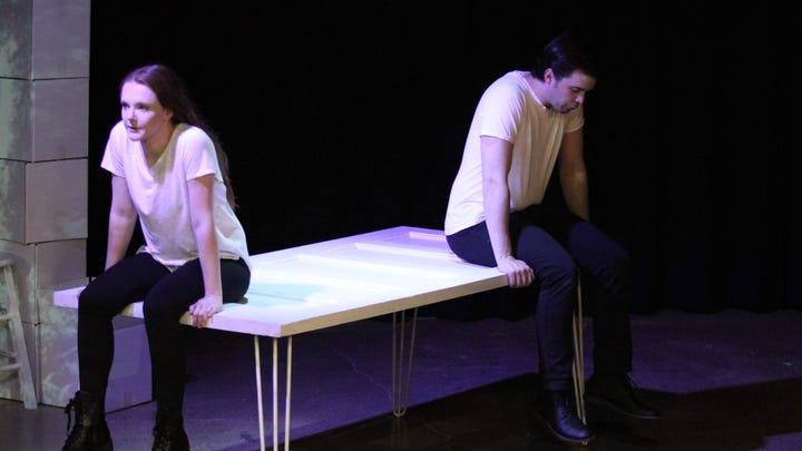 Relationship drama 'The Last Five Years' playing this weekend at Theatre 166