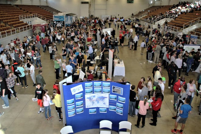 About 1,300 seventh and ninth grade students from Marion County schools attended the 2019 Made in Marion Expo at Veterans Memorial Coliseum. The event gave students the opportunity to interact with representatives of 19 companies and four schools and colleges. Due to the coronavirus pandemic, this year's expo is being presented in a virtual format. Teachers can access resources at madeinmarion.org.