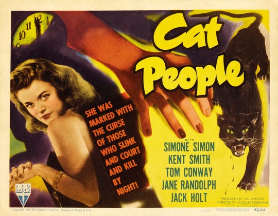 """By special request of guest filmmaker Sara Driver, director Jacques Tourneur's 1942 masterpiece """"Cat People"""" will screen at the Indie Memphis Film Festival."""