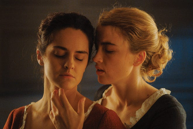"Adèle Haenel and Noémie Merlant star in the acclaimed ""Portrait of a Lady on Fire,"" which screens Saturday and Thursday during the Indie Memphis Film Festival."