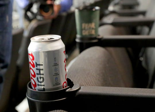 New cupholders now can support beer and other beverages without spilling. The original cupholders were prone to creating spills.