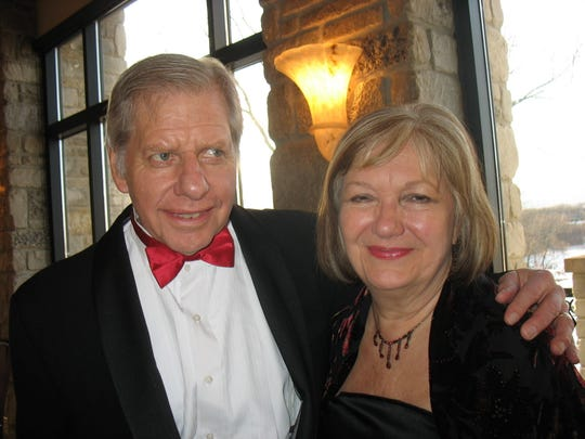 Pewaukee's Olaf Harken, seen here in 2013 with his wife, Ruth, was vice president and co-owner of Harken Inc. He died Oct. 21 at age 80.