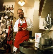 Ethan Becker, grandson of Irma S. Rombauer and shown here in the 1990s, worked on several editions of his family's famous cookbook.