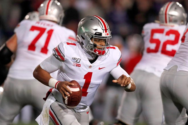 Quarterback Justin Fields returns to lead what should be an explosive Ohio State offense.