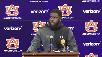 """""""It's been in the back of our minds since last year. I mean, we've just got to raise our level, get ready to play, and play Tiger defense and play Tiger football."""