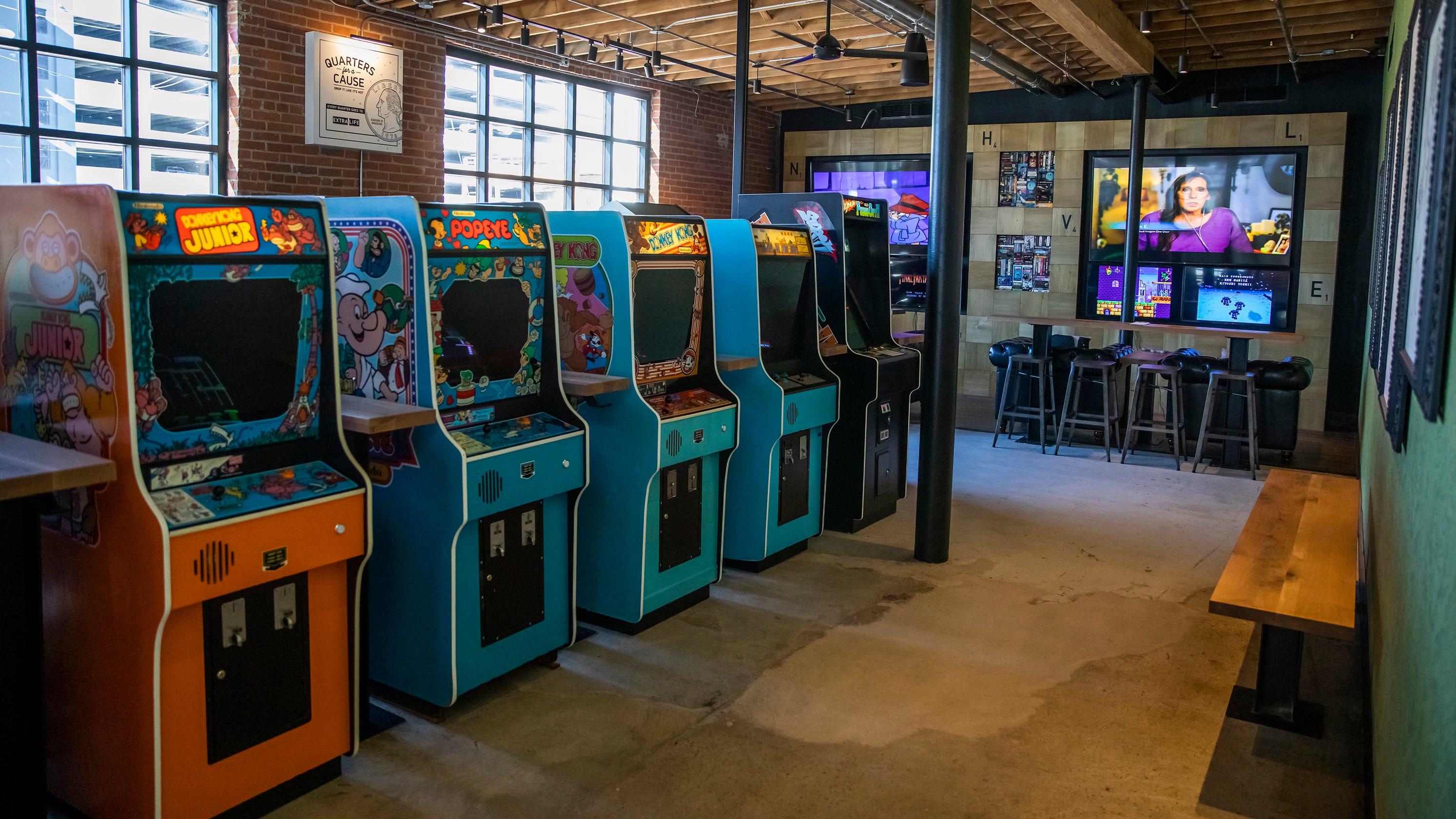 16-Bit, Pins Mechanical in Nashville bring arcade, bowling to Gulch