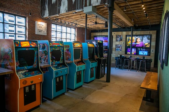The interior of the 16-Bit Bar + Arcade and Pins Mechanical Co. Tuesday, Oct. 22, 2019.