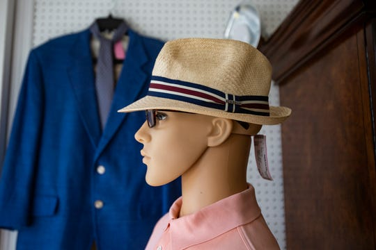 A Stetson hat is displayed on a mannequin, Monday, Oct. 21, 2019, at Happily Ever After Consignment in River Park.