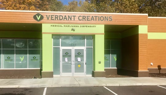 Verdant Creations, the first medical marijuana dispensary in Newark, opened Tuesday at 1546 W. Church St.