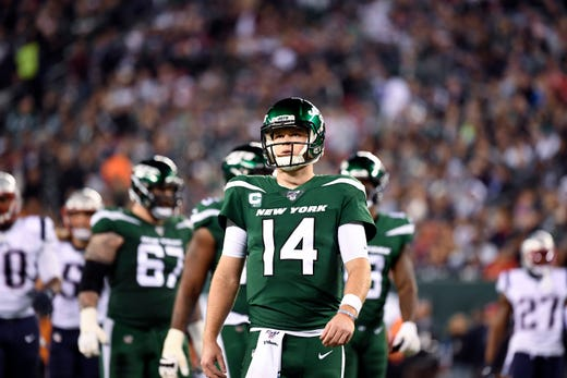 Sam Darnold Seeing Ghosts Ny Jets Unhappy Espn Aired Mic