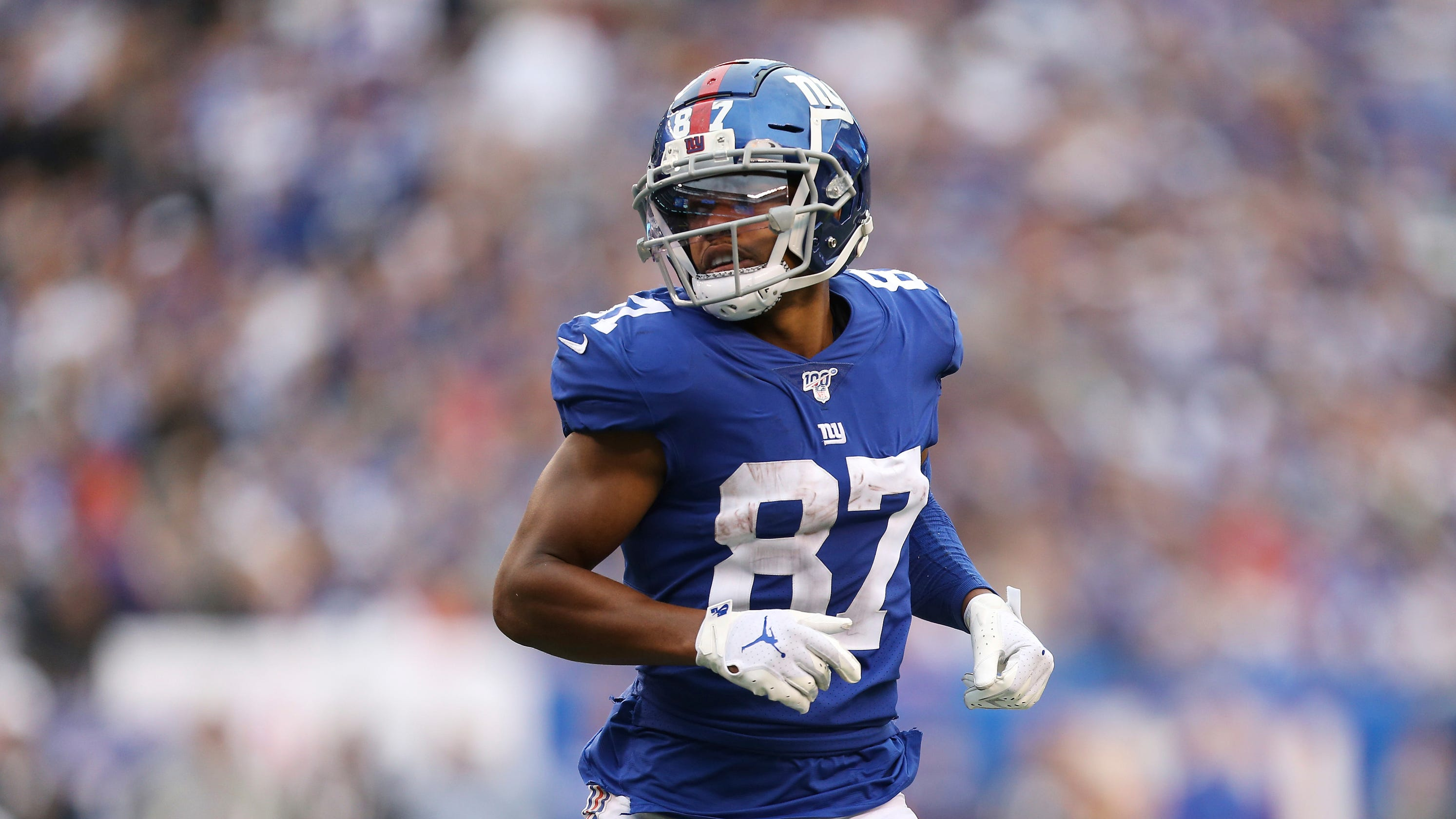 Sterling Shepard Back In Concussion Protocol Won T Play In