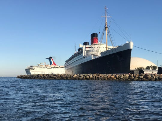 The Queen Mary is reported to be haunted, and they have nighttime ghost tours into the decks below. Or, you can take a basic tour for the history and feel what it was like to cross the Atlantic before air travel.