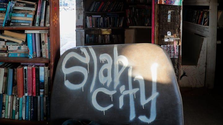 Photos: Inside Slab City Lizard Tree Library