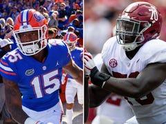 Pensacola athletes claim third of SEC's weekly football awards