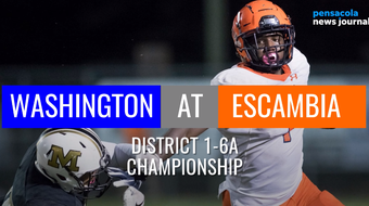 Two unbeaten teams will face off on Friday night as Washington and Escambia vie for the District 1-6A championship.
