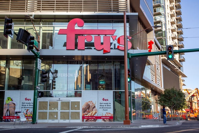 The new Fry's on Oct. 21, 2019, which will open its doors to its downtown Phoenix location this week.