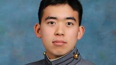 Cadet Kade Kurita. courtesy of U.S. Military Academy at West Point.