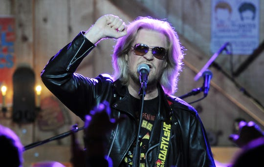 Daryl Hall performs with Hall and Oates for the opening night show at Daryl's House in Pawling, on Halloween 2014.
