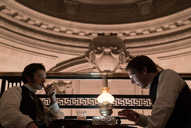 "Benedict Cumberbatch and Tom Holland star in ""The Current War."" The movie opens Thursday at Regal West Manchester."