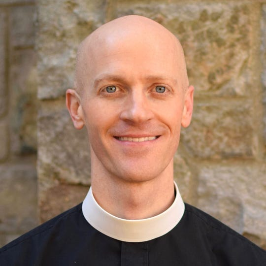The Rev. Eric Hillegas will be installed as rector of St. John Episcopal Church on Tuesday.