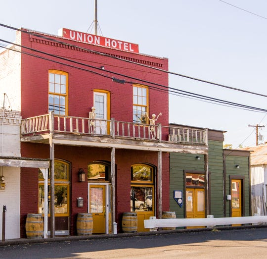 Some people say the historic Union Hotel in old town Dayton is haunted.