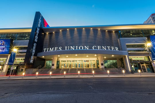 The Times Union Center in Albany.