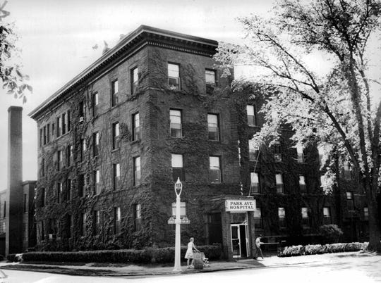 The front of Park Avenue Hospital in 1965.