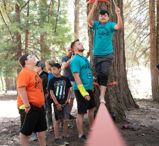Some Shasta County schools opted to hire non-profit Unite Camps to host three-day, two-night camps for students who would otherwise attend day trips with W.E.S. Camp faculty.